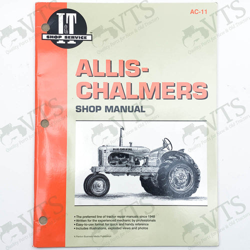 I&T Allis Chalmers Shop Manual AC-11