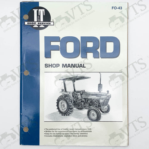 I&T Ford Shop Manual FO-43