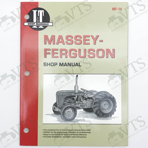 I&T Massey Ferguson Shop Manual MF-14