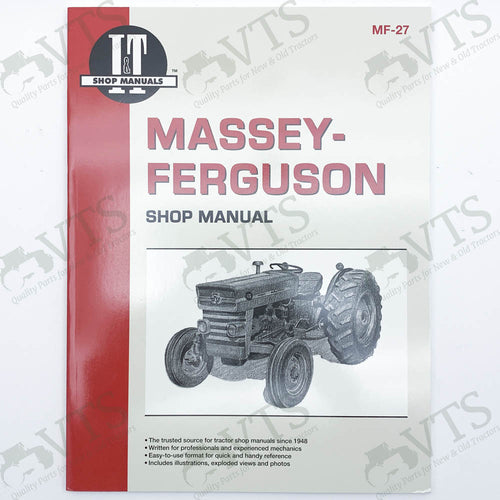 I&T Massey Ferguson Shop Manual MF-27