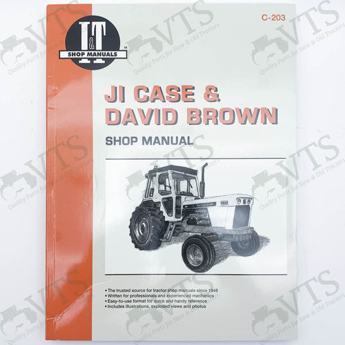 I&T JI Case & David Brown Shop Manual C-203