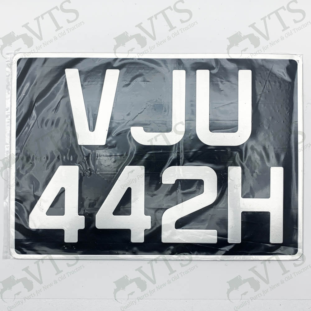 Tractor Number Plate Making (Square)