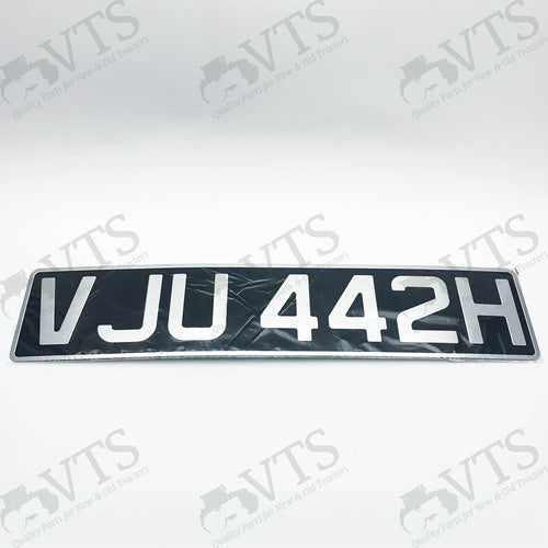 Tractor Number Plate Making (Rectangle)