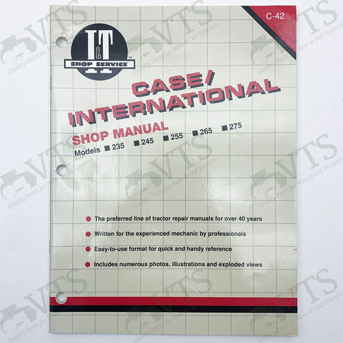 I&T Case International  Shop Manual C-42