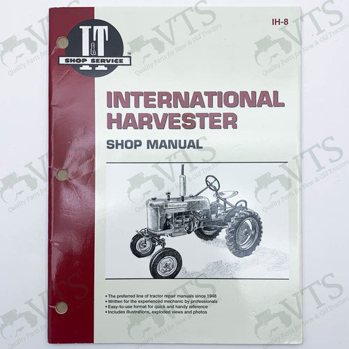 I&T International Harvester Shop Manual IH-8