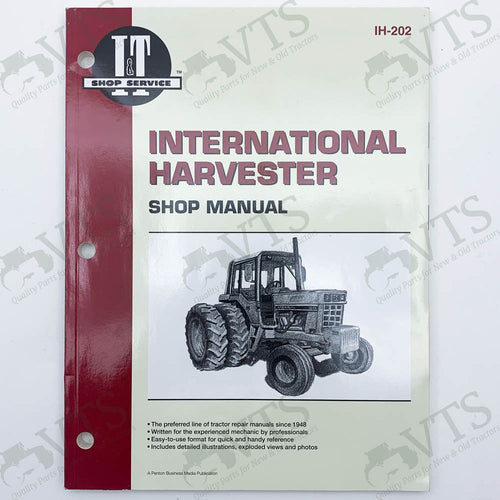 I&T International Harvester Shop Manual IH-202