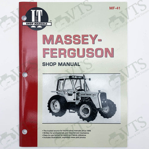 I&T Massey Ferguson Shop Manual MF-41