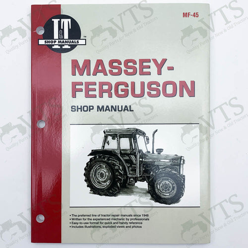 I&T Massey Ferguson Shop Manual MF-45