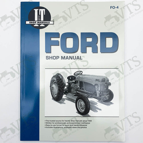 I&T Ford Shop Manual FO-4