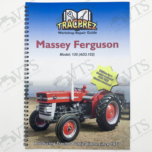 Tracprez Workshop Manual Ferguson 135