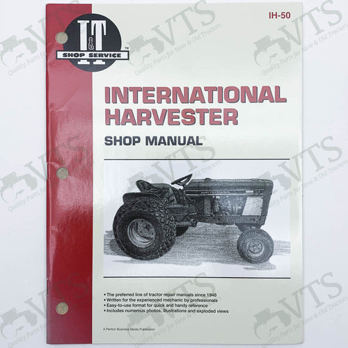 I&T International Harvester Shop Manual IH-50