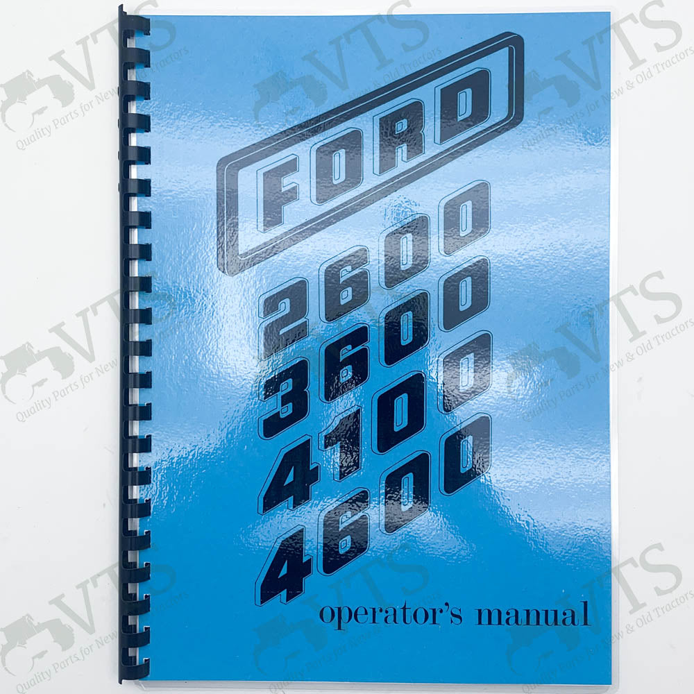Ford 600 Series Operators' Handbook