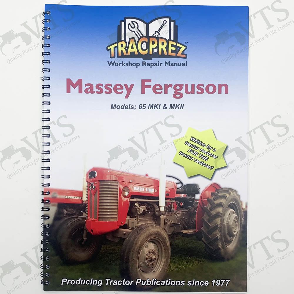 Tracprez Workshop Manual Massey Ferguson 65