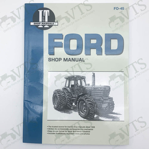 I&T Ford Shop Manual FO-45