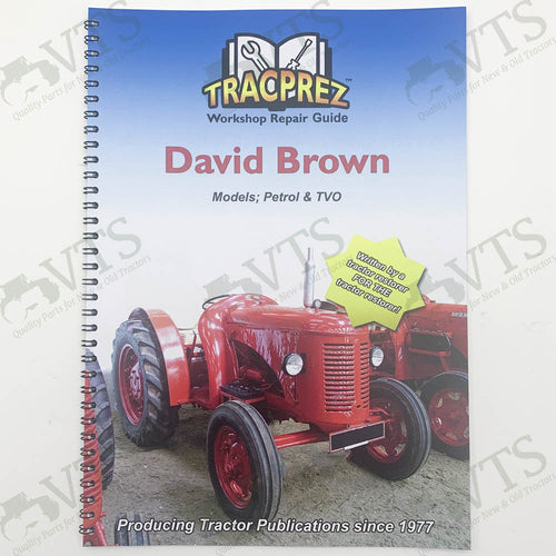 Tracprez Workshop Manual David Brown Cropmaster & V.A.K 1