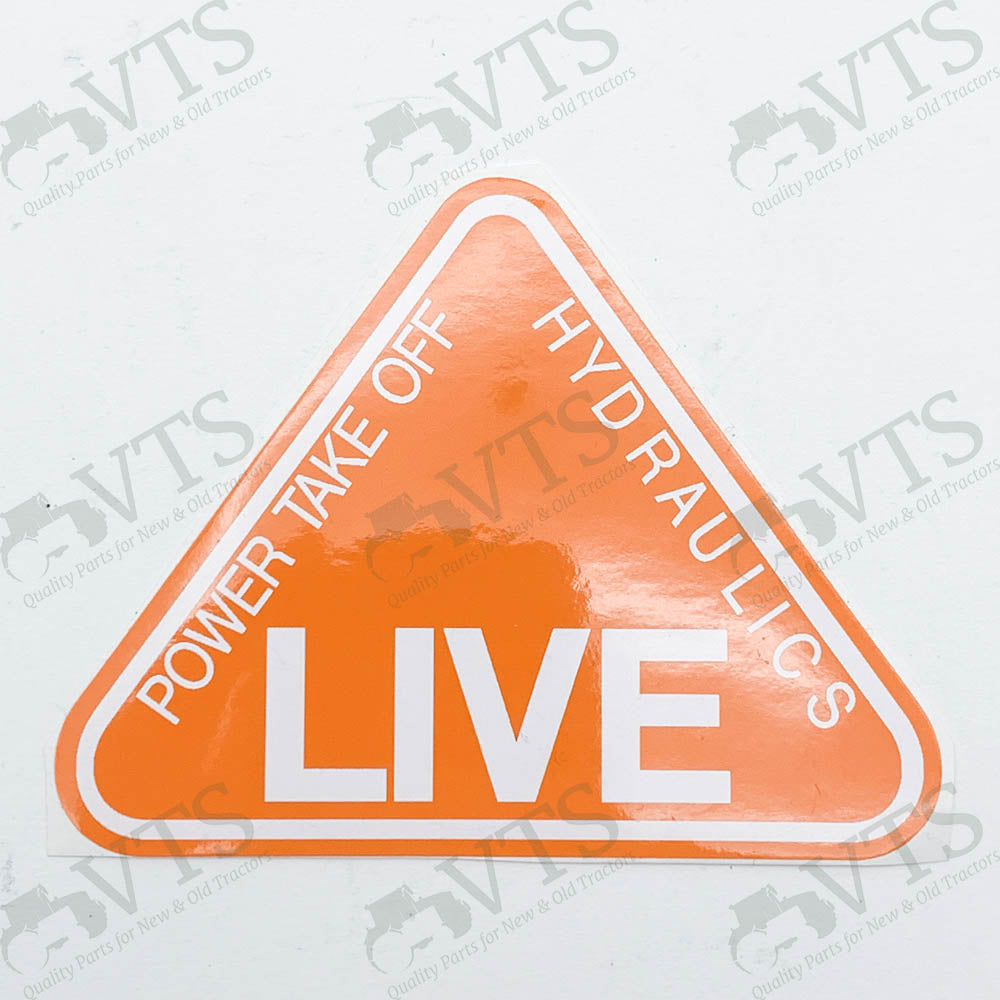 Livedrive PTO Decal