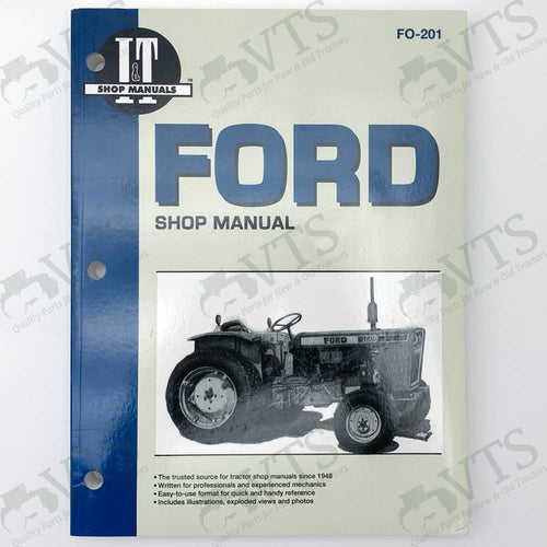 I&T Ford Shop Manual FO-201