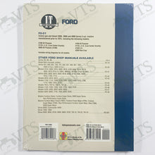 I&T Ford Shop Manual FO-31