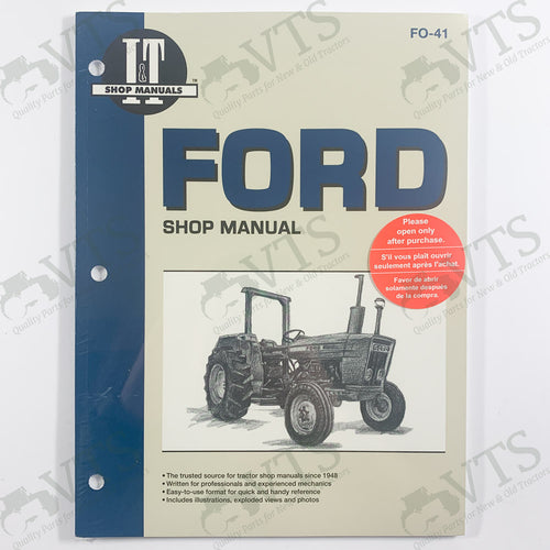 I&T Ford Shop Manual FO-41