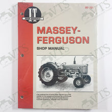 I&T Massey Ferguson Shop Manual MF-201