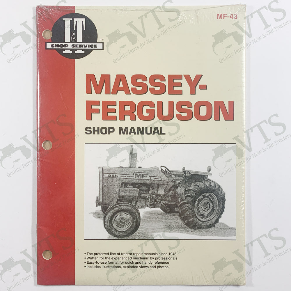 I&T Massey Ferguson Shop Manual MF-43