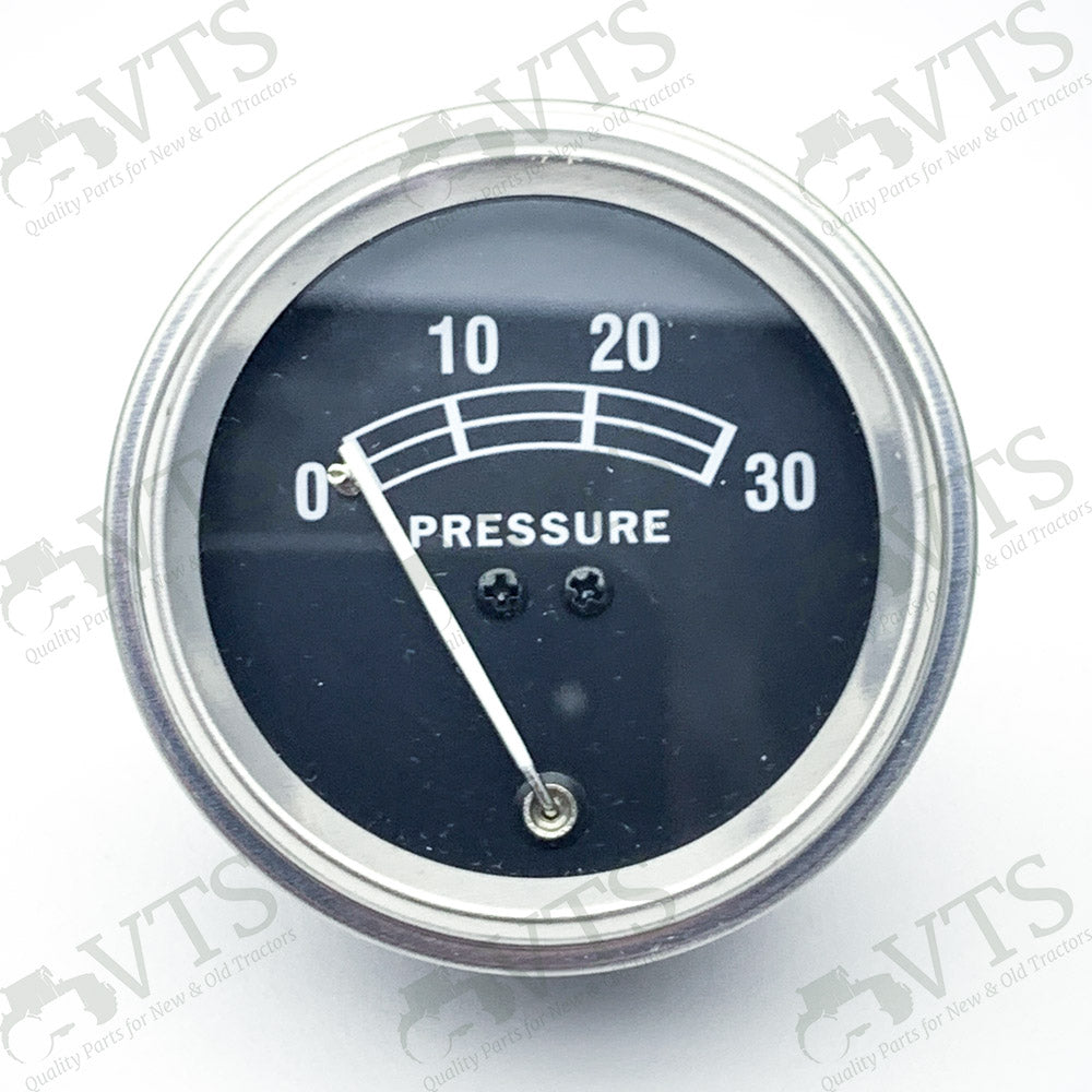 Oil Pressure Gauge (Black)