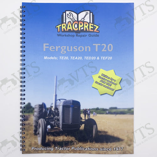 Tracprez Workshop Manual Ferguson T20