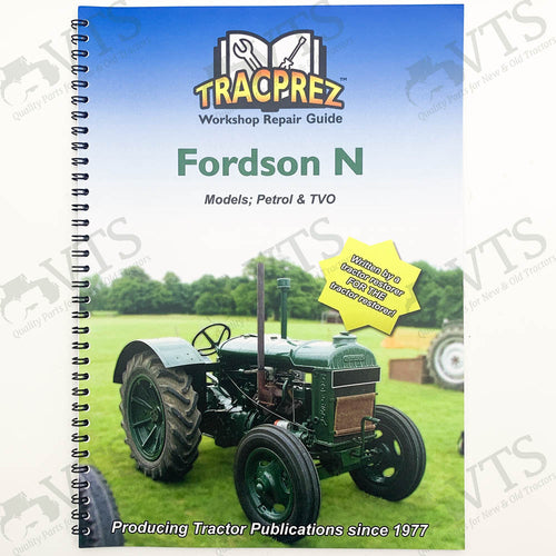 Tracprez Workshop Manual Fordson Standard N