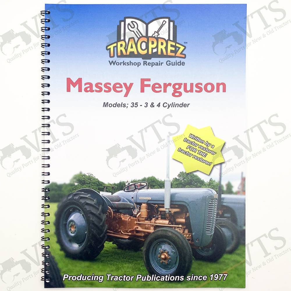 Tracprez Workshop Manual Ferguson 35 4 cyl. & MF 35 3 cyl.