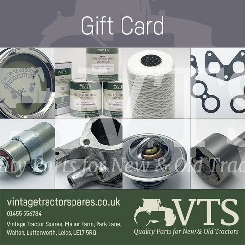 Vintage Tractor Spares Gift Voucher
