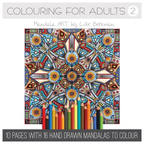 Mandala Art Book 2