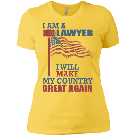 I Am A Lawyer. Ladies' Boyfriend T-Shirt-Women T-Shirt-I Share Guru