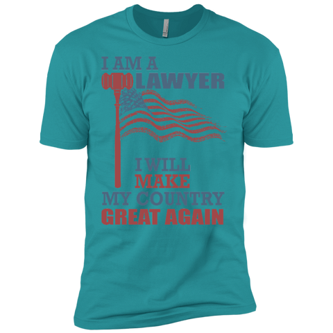 I Am A Lawyer. Premium Short Sleeve T-Shirt-Men T-Shirt-I Share Guru
