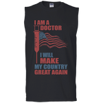 I Am A Doctor. Ultra Cotton Sleeveless T-Shirt-Funny, Smart and Inspiration shirts with saying