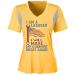 I Am A Laborer. Ladies' All Sport Jersey-Funny, Smart and Inspiration shirts with saying