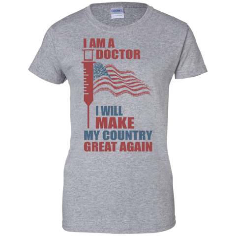I Am A Doctor. 100% Cotton T-Shirt-Women T-Shirt-I Share Guru