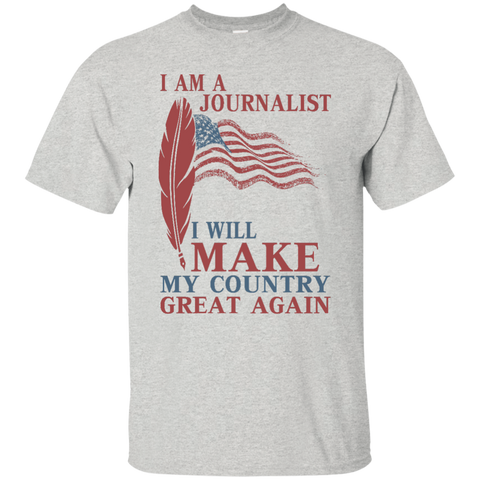 I Am A Journalist. Ultra Cotton T-Shirt-Men T-Shirt-I Share Guru