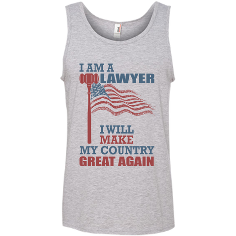 I Am A Lawyer. 100% Cotton Ringspun Tank Top-Tank Top-I Share Guru