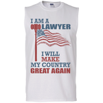 I Am A Lawyer. Men's Ultra Cotton Sleeveless T-Shirt-Funny, Smart and Inspiration shirts with saying