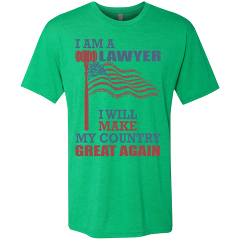I Am A Lawyer. Men's Triblend T-Shirt-Men T-Shirt-I Share Guru