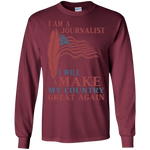 I Am A Journalist. Ultra Cotton T-Shirt-Funny, Smart and Inspiration shirts with saying