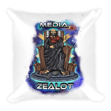 Space Throne Square Pillow