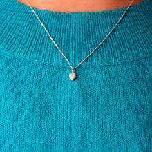 Mini Heart Necklace Silver