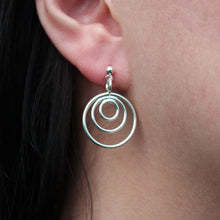 Solar Earrings Silver