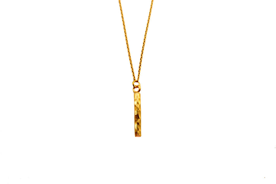 Stick Necklace Gold