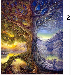 5d Diamond Painting Kits Full Drill Tree Of Life Picture Mosaic Wall A