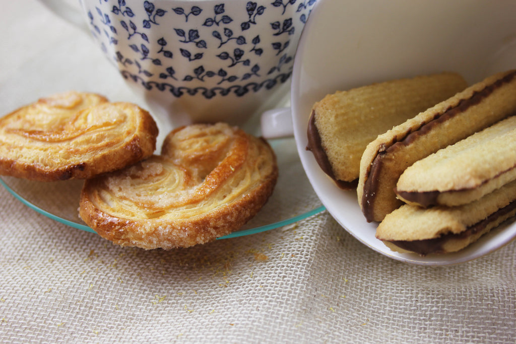 Sharing a few hot tea and tasty biscuit combinations