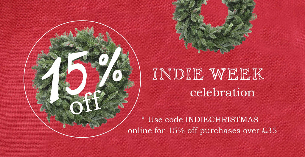 15% discount for Indie Week