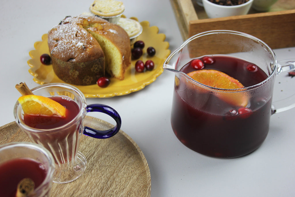 Hibiscus Mulled Punch Recipe