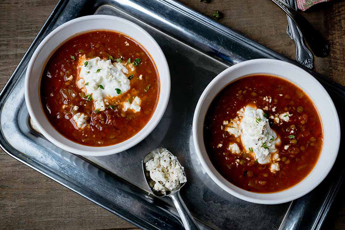 Winter Warmers - Soup Recipes with TEA